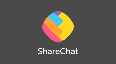 ShareChat Vertical Logo with color