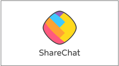 ShareChat Vertical Logo with border